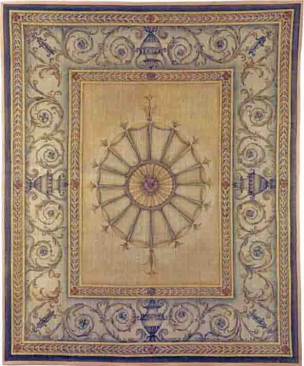 Hand Painted Rugs Of Bery Designs